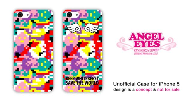 ももクロ - ANGEL EYES iPhoneケース