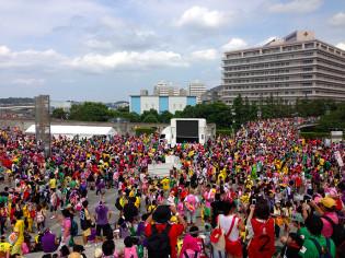 ももクロ夏のバカ騒ぎ WORLD SUMMER DIVE 2013 8.4 日産スタジアム大会