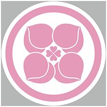 家紋(ピンク)2