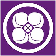 家紋(パープル)3