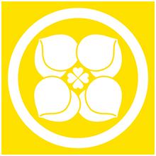 家紋(イエロー)3