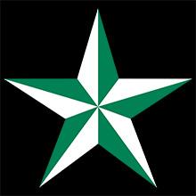 極楽門 星(緑)